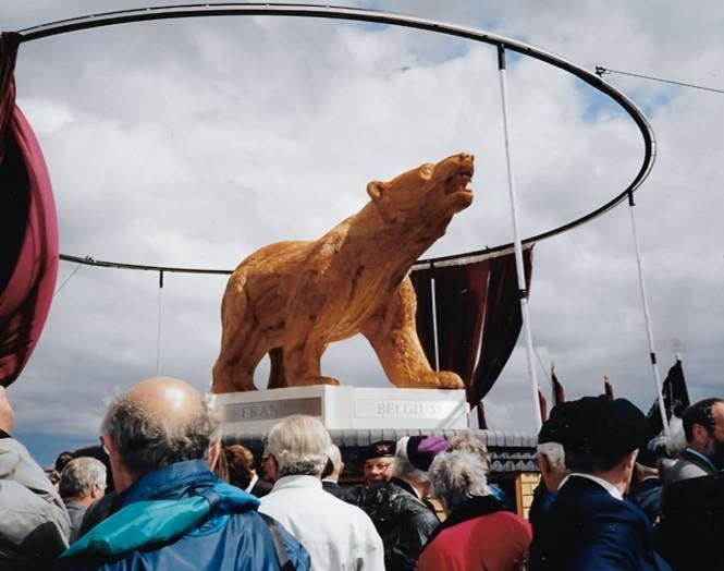 Polar Bear Memorial unveiling in 1997