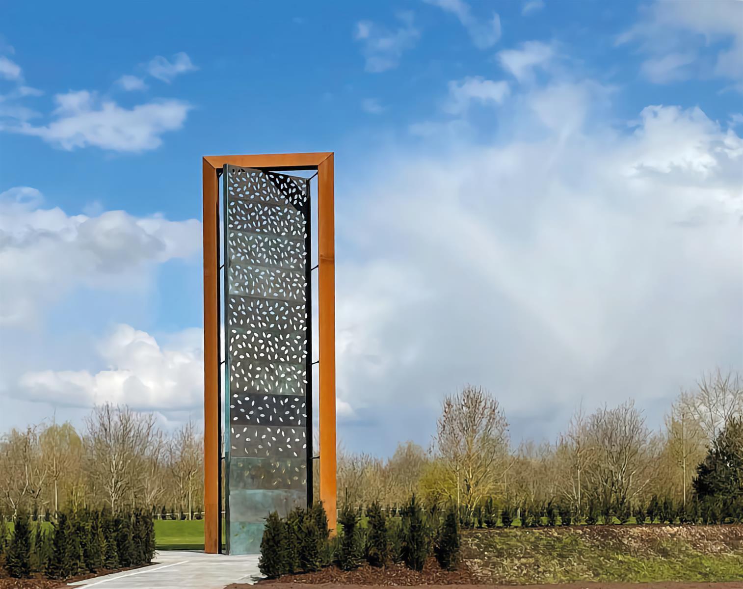 The UK Police Memorial, National Memorial Arboretum
