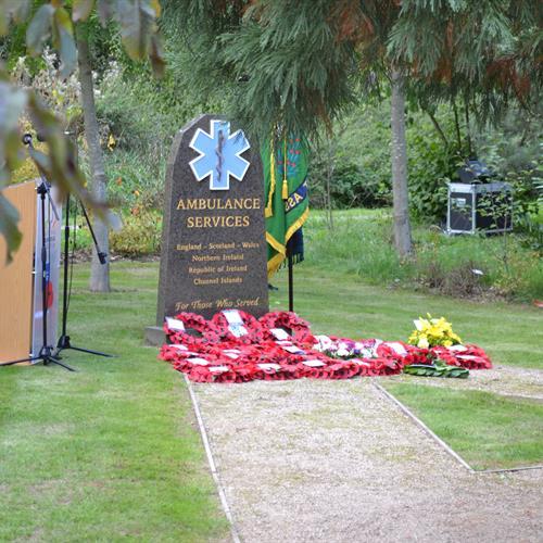 Ambulance Services Memorial Service