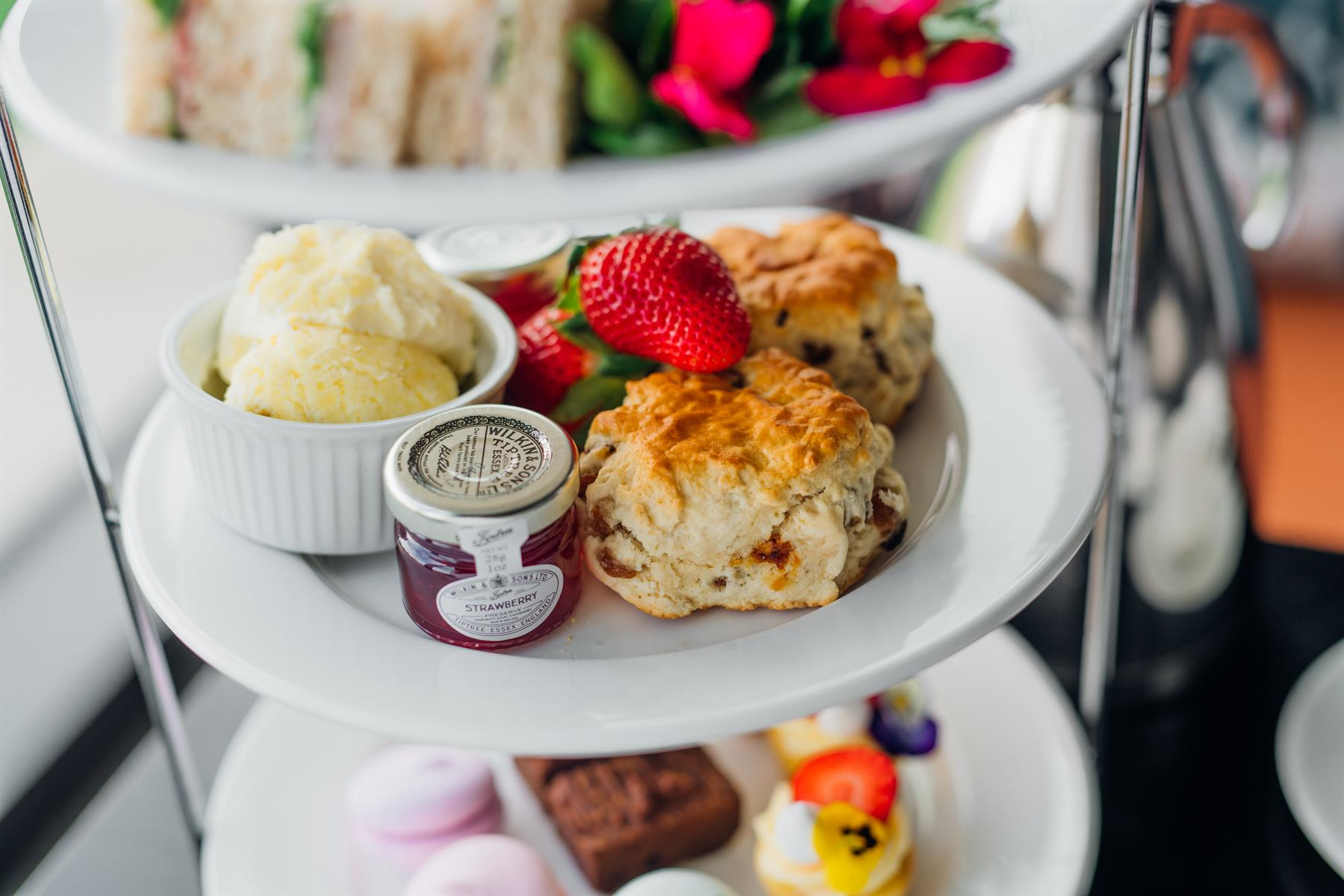 Image of an afternoon tea