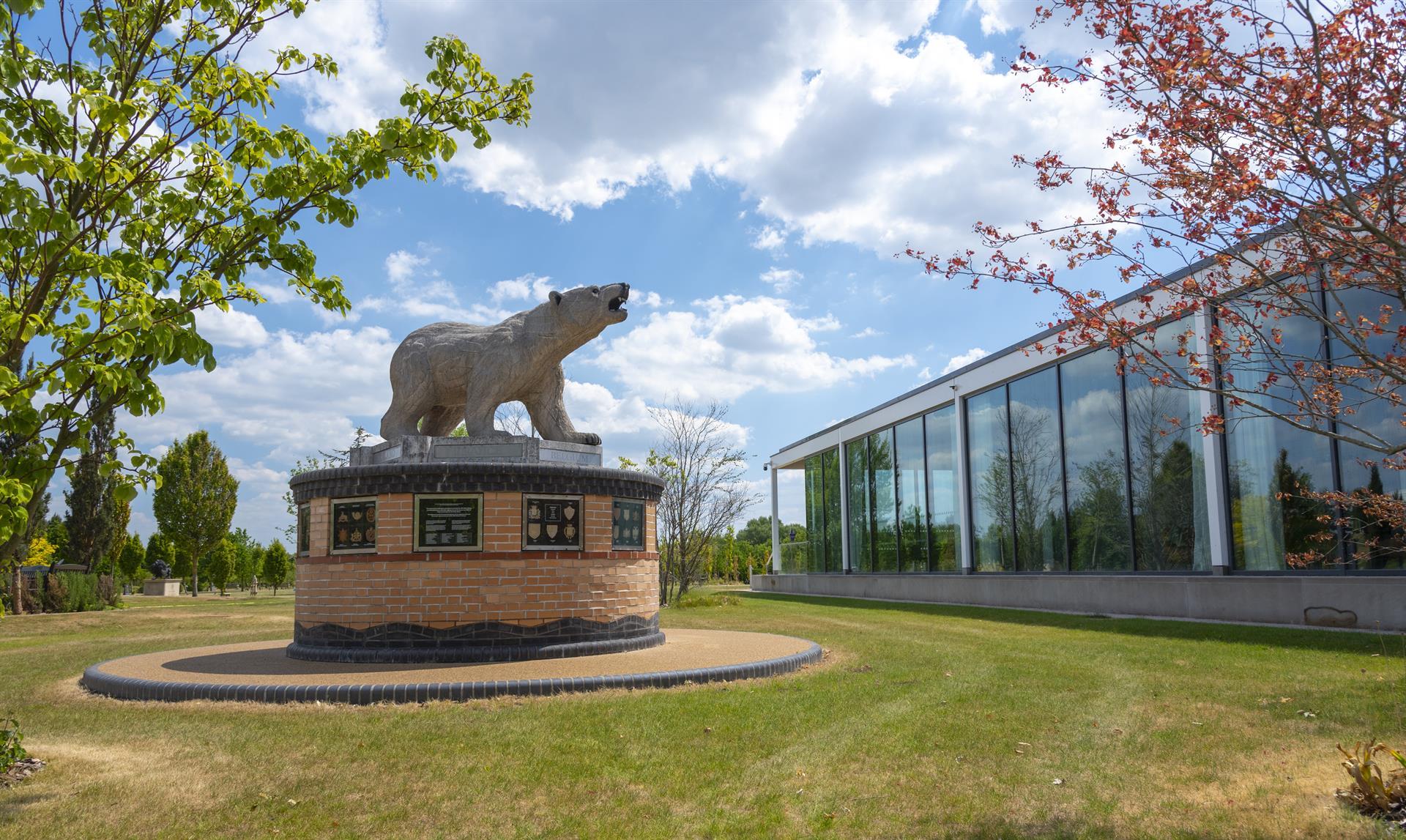 Aspects Event Building and Polar Bear Memorial