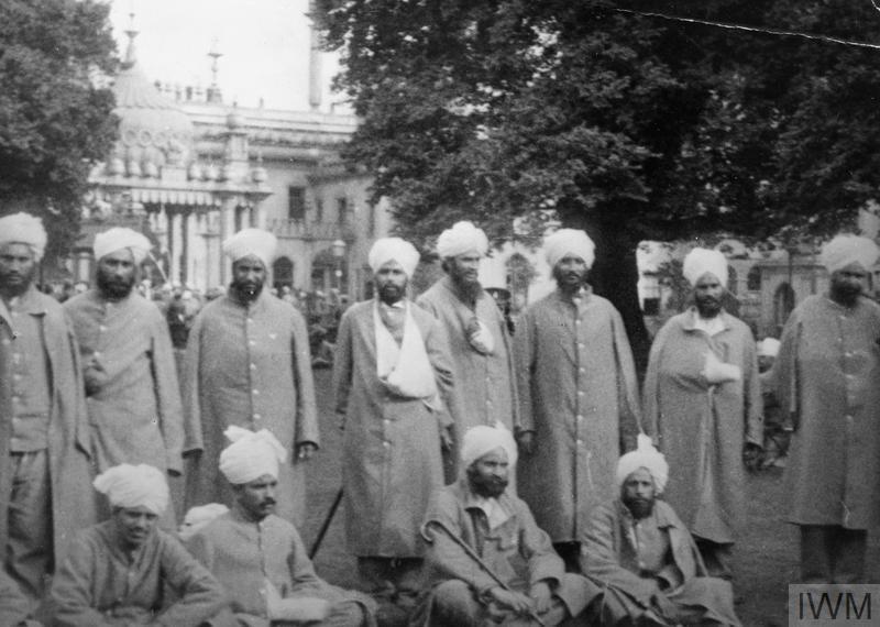 Indian Army Hospital at Brighton Pavilion © IWM (HU 68494)