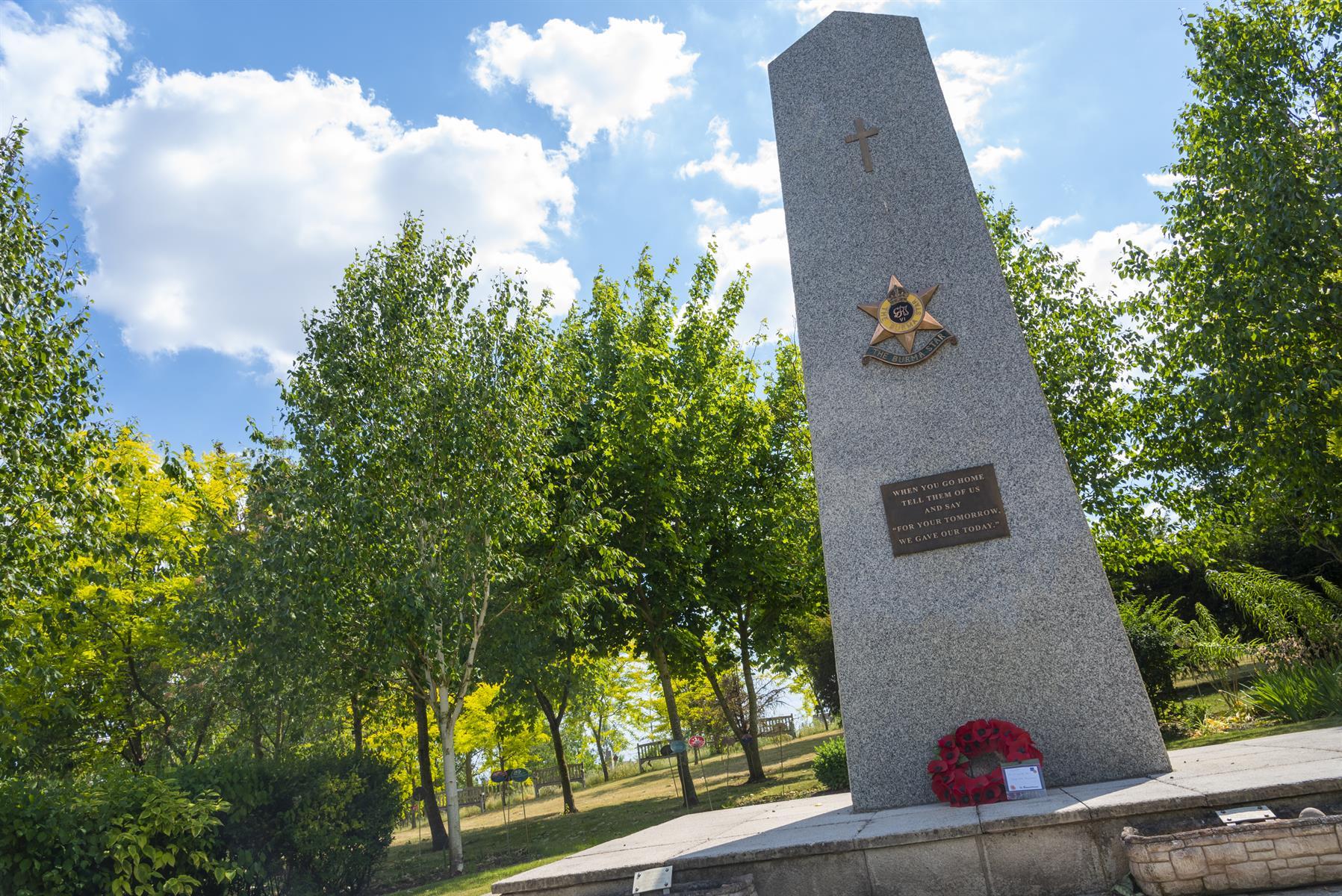 Burma Star Memorial