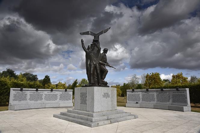 Image of Polish Armed Forces Memorial - Credit Jim Varley Photogaphy