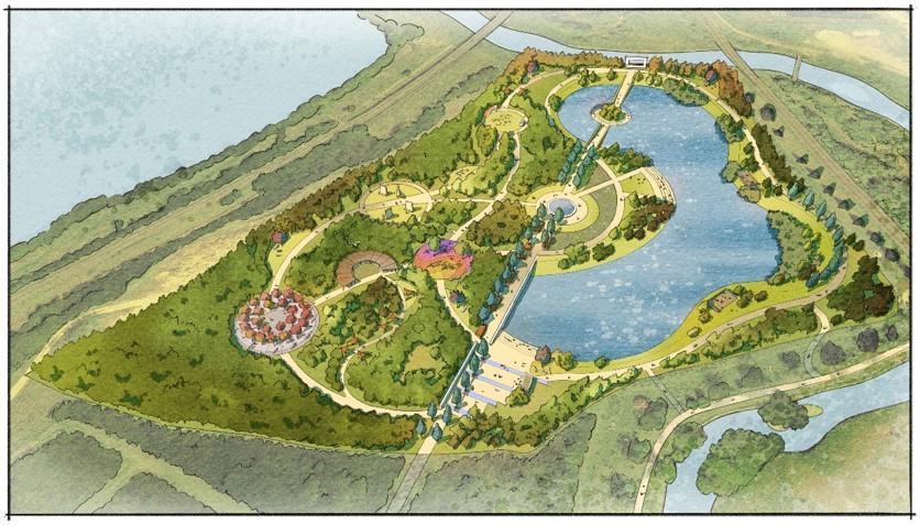 Covid-19 Memorial Woodland Design Concept